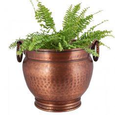 Grecian Urn Style Copper Planter