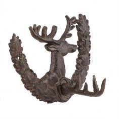 Cast Iron Deer Wall Hook