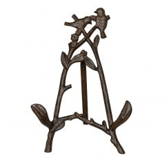 Perched Birds Easel Book Stand