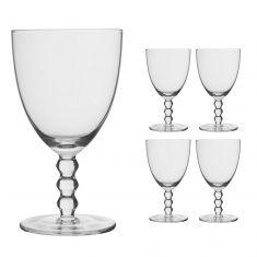 Set of 4 Bella Perle Water Glasses