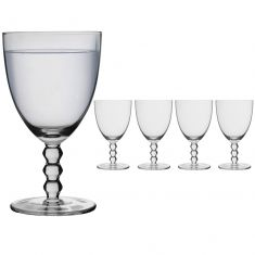 Set of 4 Bella Perle Water Glasses