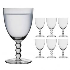 Set of 6 Bella Perle Water Glasses