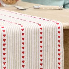 Red Country Cotton Table Linen Collection