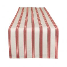 Red Stripe Table Runner