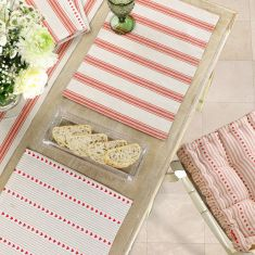 Country Stripe Tableware and Linen