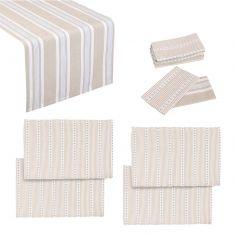 Millstone Table Linen Set for Four