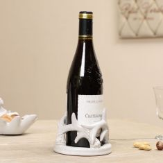 Ceramic Grey Antler Bottle Holder