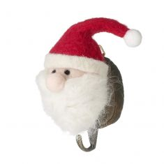 Santa Claus Wooden Wall Hook