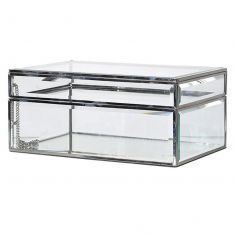 Industrial Style Glass Jewellery Box