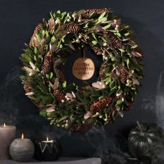 What Hides In The Forest Wreath 14