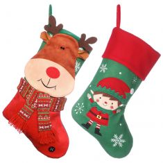 Father and Son Stockings Set