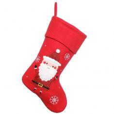 Red Santa Children's Christmas Stocking