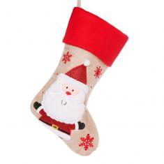 Happy Santa Children's Christmas Stocking