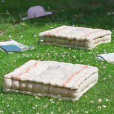 Set of 4 Belle Jardinere Mattress Garden Seat Cushions
