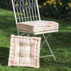 Dragonfly Garden Seat Cushion