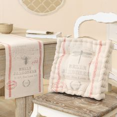 Vintage Print Cotton Dining Collection