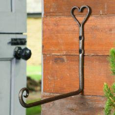 Iron Heart Shaped Lantern Hook