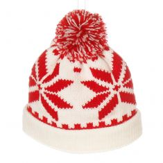 Knitted Bobble Hat Christmas Tree Decoration