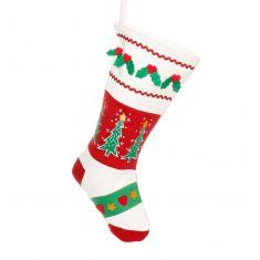 Classic Craft Style Christmas Stocking