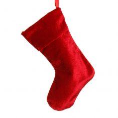 Miniature Red Velvet Christmas Stocking