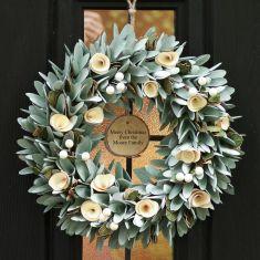 Personalised Lambeth Wreath 14