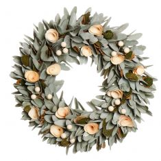 Spring Crocus and Berry Wreath 14