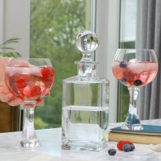 Contemporary G&T Gift Set Decanter & Glasses