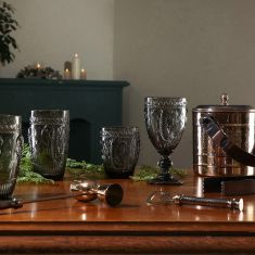 Grey Savannah Entertaining Glassware and Barware