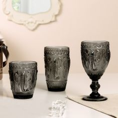 Grey Elephant Glassware