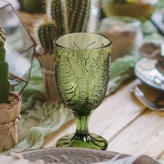 Green Fern Barware and Glassware
