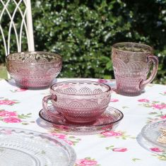Summer Pink Afternoon Dining Collection