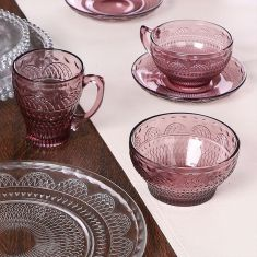 Parisian Amethyst Afternoon Tea Collection
