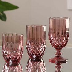 Amethyst Pink Glassware