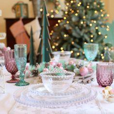 Enchanted Christmas Tablescape