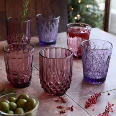 Set of 6 Winter Punch Mix and Match Tumblers