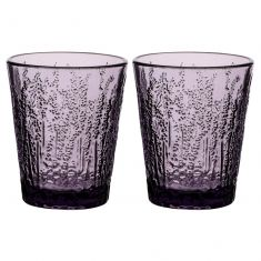 Set of 2 Heather Lavender Tumblers
