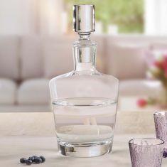 Curved Glass Contemporary Decanter