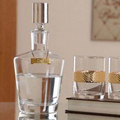 Personalised Kensington Decanter and Tumbler Gift Set
