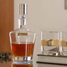 Kensington Whisky Decanter and Tumbler Gift Set