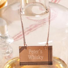Personalised Copper Tag