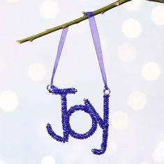 Blue Joy Tree Decoration