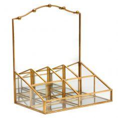 Brass Dressing Table Jewellery Box