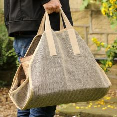 Herringbone Log Bag Carrier