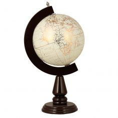 Livingstone Wooden Framed Desk Globe