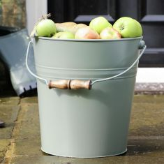 Sage Green Apple Bucket