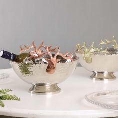 Winter Stag Home Bar Serveware Collection