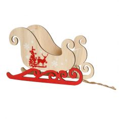 Santa's Sleigh Table Top Decoration