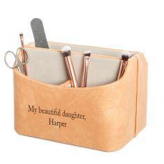 Personalised Swivel Luxury Cosmetics and Brush Holder