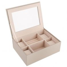 Pebble Grey Jewellery Box and Watch Store