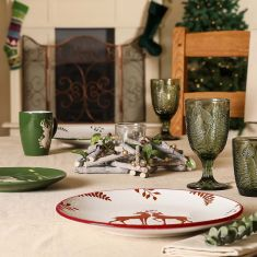Alpine Lodge Christmas Tableware